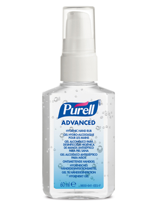Purell 60 ml med pump